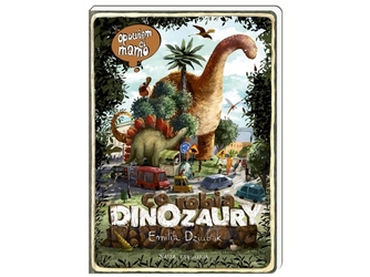 Co robią dinozaury opowiem ci mamo książka dla dzieci