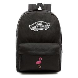 Plecak szkolny vans realm backpack custom flaming - vn0a3ui6blk