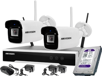 2 kamerowy zestaw monitoringu wifi hikvision 4mpx 1tb