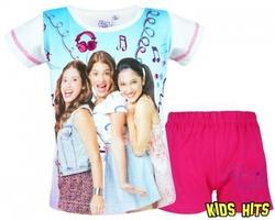 Piżama violetta friends biała 6 lat