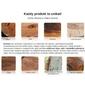 Zestaw drewnianych stolików kawowych finca mango handmade