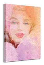Lady In Rose - Obraz na płótnie
