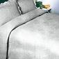 Barok narzuta na fotel greno popielata - popielaty