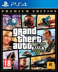 Cenega gra ps4 grand theft auto v premium ed pl