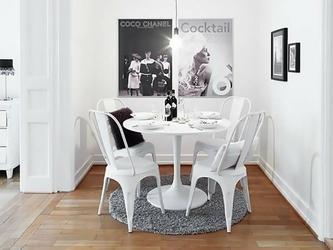 Krzesło alfie nowoczesne stalowe
