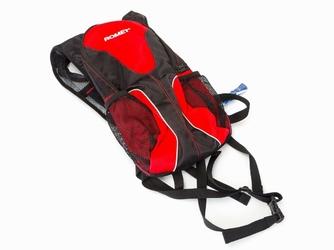 Plecak rowerowy Romet AK-R czrno-czerwony+bukłak