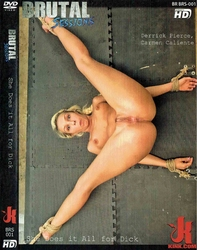 Dvd-brutal sessions she does it all for dick