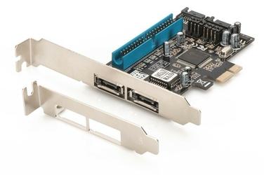 Digitus Karta rozszerzeńKontroler SATA II PCI Express, 2xSATA 2xeSATA, L
