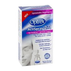 Optrex actispray 2in1 für trockene+gereizte augen
