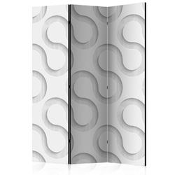 Parawan 3-częściowy - serpentyny room dividers