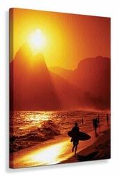 Ipanema Beach - Obraz na płótnie