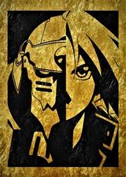 Golden LUX - Fullmetal Alchemist - plakat Wymiar do wyboru: 21x29,7 cm
