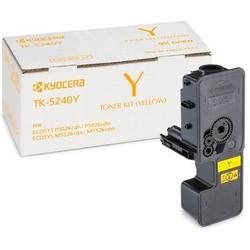Toner oryginalny kyocera tk-5240y 1t02r7anl0 żółty - darmowa dostawa w 24h