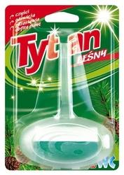 Tytan, dwufazowa zawieszka do toalety, zapach leśny
