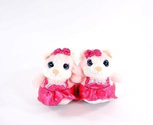 Pantofle dziecięce ame 45003 róż