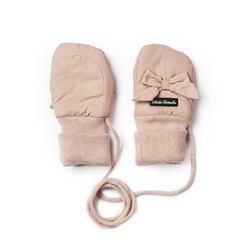 Rękawiczki powder pink, 0-12 m-cy