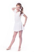 Shepa kostium gimnastyczny ze spódniczką b7