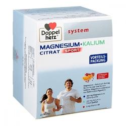 Doppelherz system magnez+potas cytrynian w saszetkach