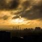 Fototapeta panorama przemysłowego miasta fp 1377