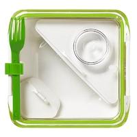 Lunchbox box appetite zielono-biały black+blum