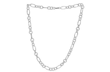 Naszyjnik srebrny koła