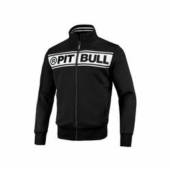 Bluza Pit Bull West Coast Oldschool Track Chest Logo Black Off White - 149301900