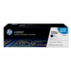 HP oryginalny toner CB540AD, black, 2200s, 125A, HP Color LaserJet CP1215, 1515, 1518, Dual pack 2szt