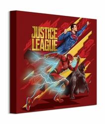 Justice League Heroes To Action - obraz na płótnie