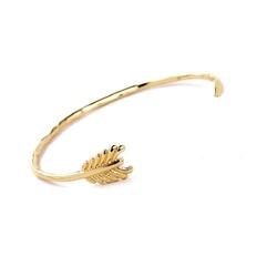 Exclusive bransoletka sztywna strzała złota - złota