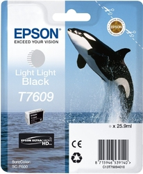 Epson t7609 ink cartrid light light black ultrachrome hd