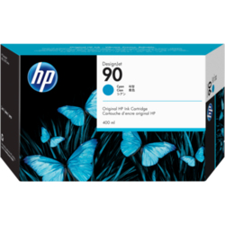 Błękitny wkład atramentowy HP 90 DesignJet 400 ml