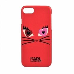 Karl lagerfeld etui hardcase iphone 7 klhcp7cl2re czerwony choupette  in love