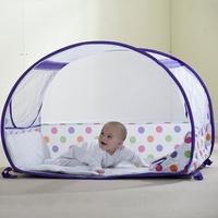 Łóżeczko turystyczne koo-di pop up bubble cot polka purple