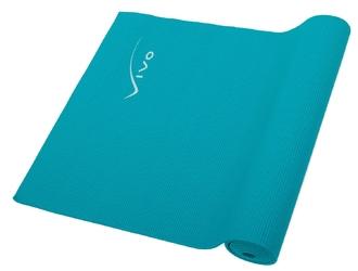 Mata do ćwiczeń vivo pvc 173x61x0,6cm turquoise fa012