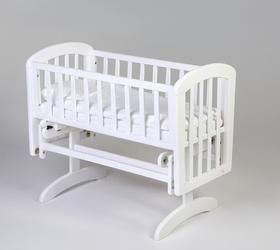 TROLL Anna Glider Crib kołyska k. biały