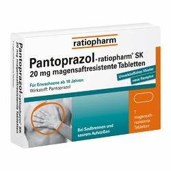 Pantoprazol Ratiopharm Sk 20 mg na zgagę