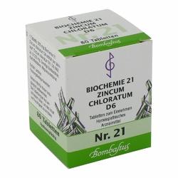 Biochemie 21 Zincum chloratum D 6 Tabl.