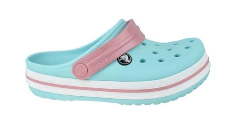 Crocs crocband clog k 204537-4s3 2526 błękitny