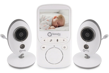Lionelo babyline 5.1 niania elektroniczna z 2 kamerami