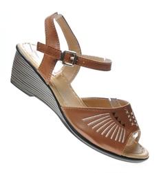 Pantofelek24.pl   sandały damskie na płaskim obcasie