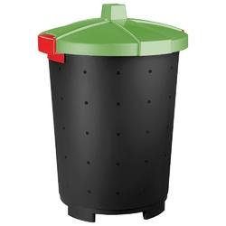 Kosz na śmieci keeeper mattis 65 l zielony