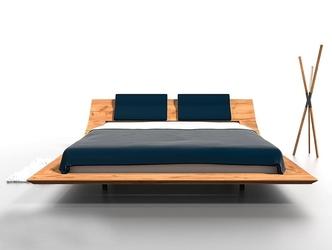 Drewniane łóżko do sypialni lebron