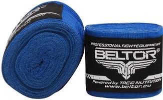 Beltor bandaż bokserski-elastyczny 3m niebieski