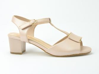 Sandały sergio leone sk806 różowy perła