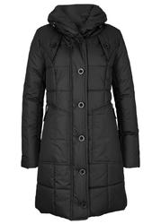 Płaszcz pikowany bonprix czarny