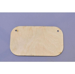 Drewniana tabliczka do decoupage 9,5x5,5 cm - 04