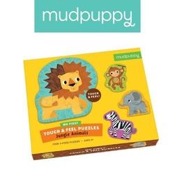 Puzzle sensoryczne mudpuppy - safari