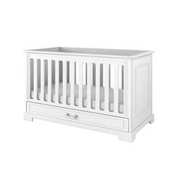 Bellamy Ines elegant white łóżeczko 70x140 z funkcją tapczanika