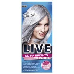 Schwarzkopf, live, 0-98 steel silver, krem koloryzujący do włosów