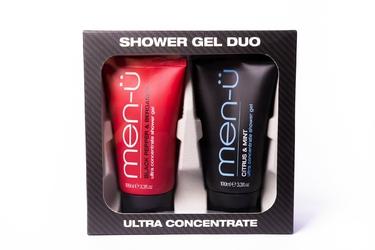 Men-u męski zestaw pod prysznic - żel bergamotka i czarny pieprz  cytrusy i mięta 100ml